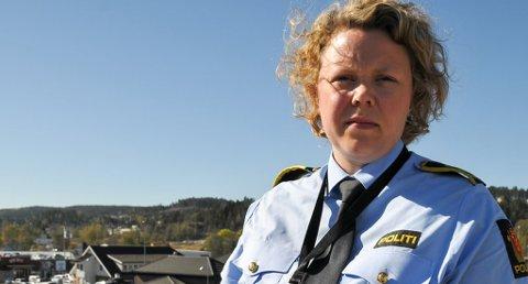 FLERE SAKER: Politiinspektør, Guro Siljan ved Telemark politidistrikt, sier at politiet har et tyve-talls saker på bloggeren i 40-årene registrert hos dem.