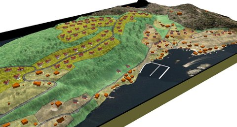 Slik var planene for den storstilte utbyggingen i 2013. Nå er disse planene blitt krympet kraftig.