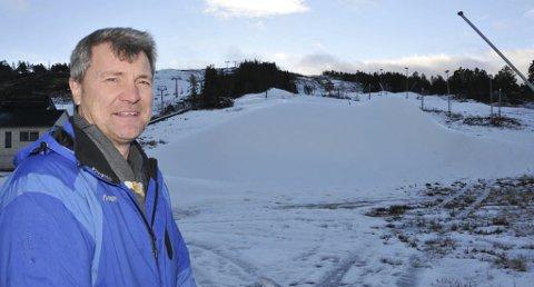 Økte inntektene: Gautefall Skisenter ved Bjørn Halvor Roalstad har økt inntektene, men regnskapet for 2016 viser et underskudd