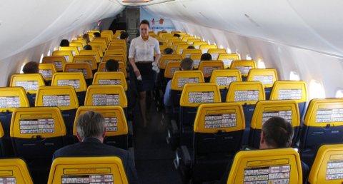 Ryanair melder at de fra 1. november vil innføre nye og strengere regler for håndbagasje. Foto: NTB scanpix