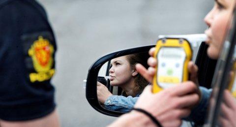 Mer enn 2.000 sjåfører ble tatt for kjøring i ruspåvirket tilstand i 2017, viser tall fra UP. Foto: Gorm Kallestad, NTB scanpix/ANB