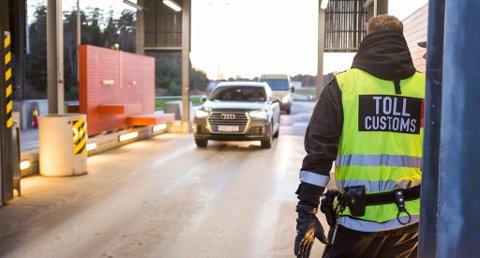 DØMT: Tre menn fra Grenland er dømt for grov innførsel av narkotika. Beslaget av 30 kilo hasj ble gjort på Svinesund den 6. september i 2018.