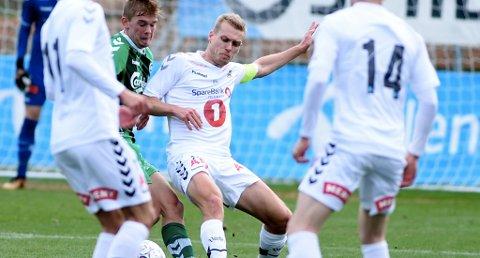 SKADET: Steffen Hagen mister søndagens kamp i Oslo.