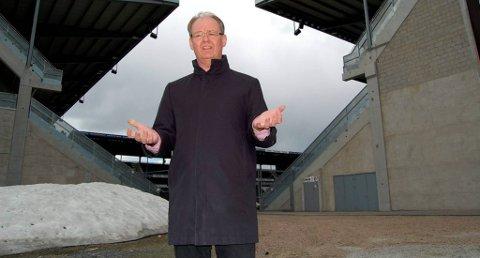 STANG INN: Konserndirektør Christen Knudsen i Borgestad ASA fikk stang inn på aksjeplasseringen i Grenland Arena.