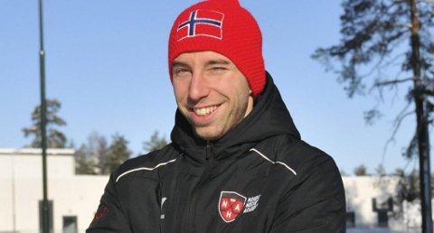 GULL I SIKTE: Sam Liebkind og Skien U18.