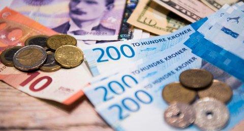 Om noen få dager tikker skattepengene inn ... Foto: Jon Olav Nesvold/NTB scanpix