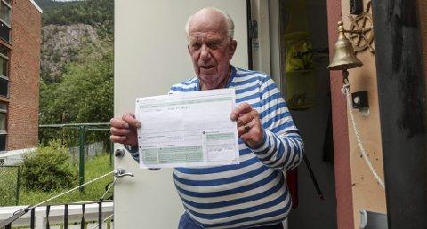 FÅr ikke meldt FRA: - Jeg trodde ikke man måtte ha pass for å flytte fra Mælandstangen til Tinngata, sier Rjukan-mannen Kai-Wiggo Elnes.