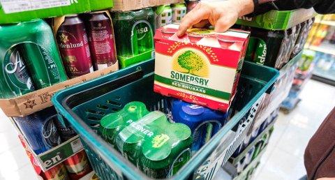 Prisene på alkohol og tobakk bidrar til å trekke opp prisnivået i Norge. Foto: Gorm Kallestad, NTB scanpix/ANB