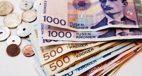 MER Å RUTTE MED: Nordmenn kan vente seg høyere lønnsvekst i årene fremover. Foto: Gorm Kallestad (NTB scanpix)