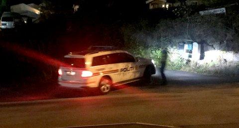 RYKKET UT: I høst rykket flere politipatruljer ut til Vallermyrene etter melding om ulykke mellom en person og et tog.