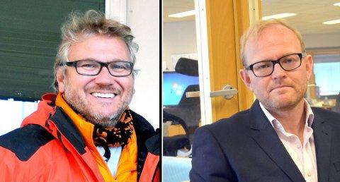BEKREFTER: Advokat Erlend Follegg (til høyre) bekrefter at det han som har klaget henleggelsen inn til Riksadvokaten. Det var også Follegg som i sin tid anmeldte Stein Birger Johnsen (til venstre) for økonomisk utroskap.