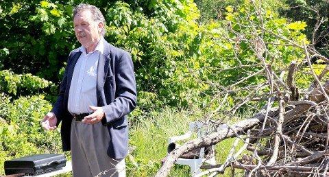 Den tidligere forretningsmannen Bernt Egil Ohna (78) bodde i Kragerø i mange år, men han har nå flytta til Asker.