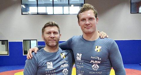 Eren Gjægtvik blir trener for Felix Baldauf på heltid.