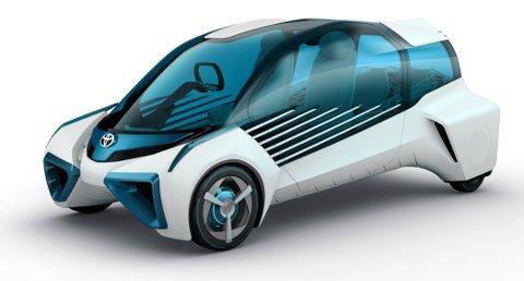 TROR PÅ HYDROGEN: Toyota har satset tungt på hydrogen. Det har mange tro på.