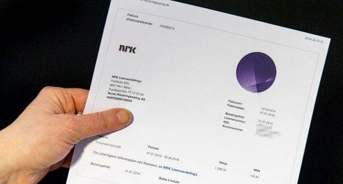MANGE BETALER IKKE: NRK-lisensen kan bli en dry affære om man ikke betaler tidsnok.