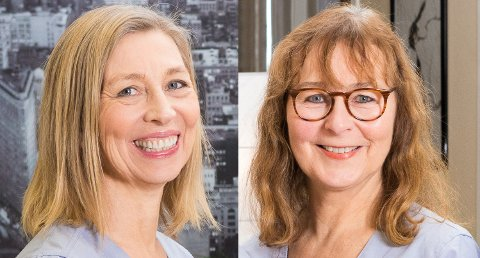 PASS OPP: Hvis du vil bruke en akupunktør, oppsøk en som har utdanning, ber Inger Norunn Buvarp og Anne-Marie C. Simonsen.