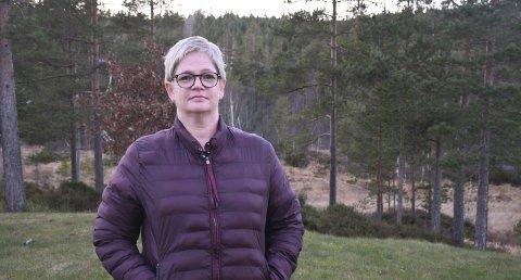 Fremsatte krav: Lena Ormshammer Moheim krevde i fjor odelsløsning på et skogstykke på nesten 400 mål, fordi det ble solgt ut fra gården hun vokste opp. Hun fikk kjøpekontrakt, men landbruksmyndighetene har sagt nei.Foto: Øystein K. Darbo