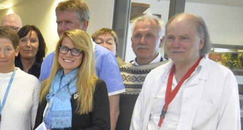 Håper: Kommuneoverlege Per Einar Jahr håper at man får på plass øyelege ved VLMS i løpet av sommerhalvåret og at vedkommende starter i jobb på nyåret.