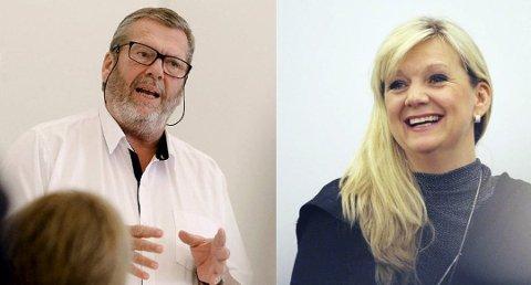 FAVORITTER: Tom Anders Ludvigsen og Eirin Stuhaug Bolle har lavest odds i ordførerkampen i Vestby.