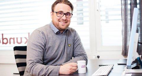NY DAGLIG LEDER: Øystein Møller er ny sjef i det landsdekkende måle- og analysebyrået Ukjent Kunde AS.