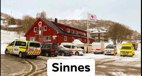 BEREDSKAP: Røde Kors Sandnes har i en årrekke hatt beredskap på Sinnes. I år ønsker de å samle inn penger for å beholde snøscooterberedskapen.