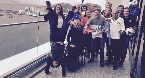 Alle samlet: En rekke forskjellige idretter går sammen om å arrangere Idrettskonferansen i Bodø 30. september til 2. oktober. Her er noen av dem samlet til et aldri så lite fellesliste.Foto: Stian Høgland