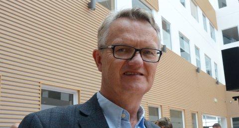 Stavangerpolitiker: Arnt Hekki Steinbakk (Ap) har engasjert seg i saken om forbudsområder for Sjøforsvaret, som hindrer utvikling i lokalmiljøet, deriblant i Østhusvik.