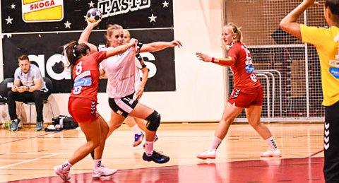 GIFs beste.  Thale Rushfeldt Deila ble kåret til Glassverkets beste i cupkampen mot Follo. Hun scoret seks mål.