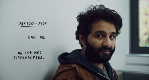 Nader Khademi fra Ninjababy er gjest i Filmprek på Fredrikstad Kino lørdag.