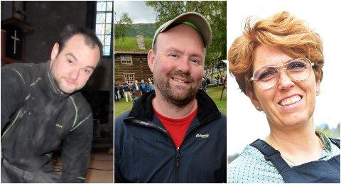 Pål Rindal, Aasmund Kolstad og Jorunn Einbu Teigen er blant kandidatene til kirkevalget i Lesja og Lesjaskog.