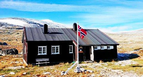 I MÅL: Omfattende renovering av turisthytta Reinheim på Dovrefjell er nettopp ferdig.