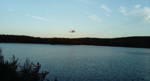 Jente (14) druknet ved Krusetertjern i går kveld.