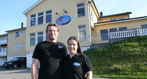 SUKSESS: Frode Jerpstad Fjerdingøy og Ingeborg Rushfeldt Meirud har all grunn til å smile.