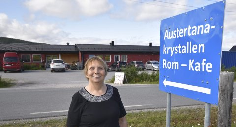 ENGASJERT: Esther Utsi skulle ønske at flere engasjerte seg når det gjelder utvikling av miljøteknologi i Finnmark. Nå tar hun i et tak selv.