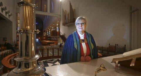 BISPEVISITAS: Biskop Ann-Helen Fjeldstad Jusnes kommer på bispevisitas til Buksnes og Hol 5- 8. februar