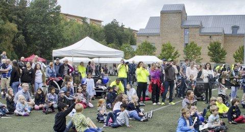 FESTIVAL: Lørdag 9. september inviteres det til Mortensrud Festival for tredje gang. Her fra fjorårets arrangement. Arkivfoto