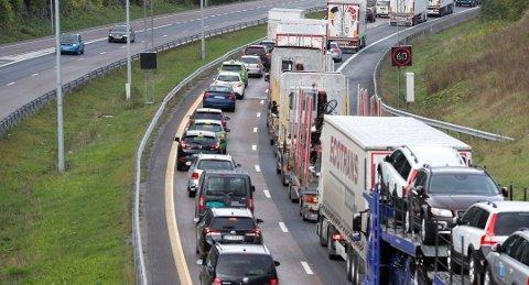 – Antallet uforsikrede biler er mer enn halvert siden 1. januar, så tiltaket har fungert godt, men 46.000 mangler fortsatt forsikring. Foto: Erik Johansen, NTB scanpix/ANB