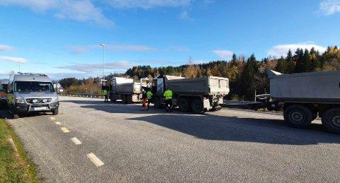 BREISKALLEN: Statens vegvesen delte ut reaksjoner som om det var sukkertøy, da de hadde kontroll i Gjøvik-regionen onsdag og torsdag.