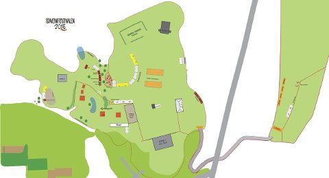 stavernfestivalen kart Østlands Posten   Anbefaler folk å gå eller sykle stavernfestivalen kart