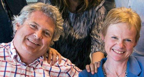 Hallstein Bast og Magdalene Lindtvedt blir i Venstre.