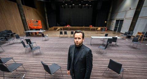 Hotellsjef ved Scandic Meyergården Ruben Nilsen Robertsen sier at den økonomiske situasjonen ville vært mye bedre med et forbud fra kommunen.