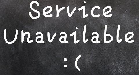 Det er mulig jeg er litt desillusjonert når jeg blir overrasket og glad for god service.