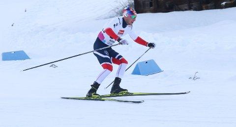 I GANG: Jørgen Lippert ble beste lokale løper på Beitostølen med sin 47. plass.