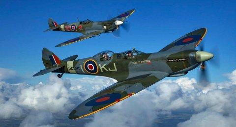 SNART: Lørdagen skal bli en opplevelsesdag, og også tilby bransjeseminarer. Her et illustrasjonsfoto av Spitfire.