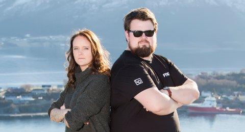 Isabel Trustrup og Henrik Blomvik