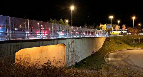 Trafikken sto i Viadukten-området i forbindelse med stengingen av Atlanterhavstunnelen.