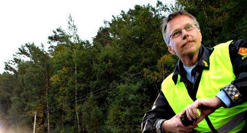 Det var Ingar Solberg som hadde jobben som politiets innsatsleder under den alvorlige trafikkulykken i Kristiansund torsdag. – Ting tar tid, sier han om arbeidet som må gjøres i slike situasjoner.