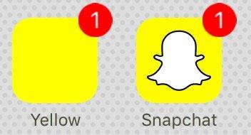 SØKER VENNER: Med appen Yellow kan man få flere venner på Snapchat.