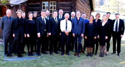 Debutkonsert: Frå Valdres Kammerkor sin debutkonsert 7. mai ifjor.