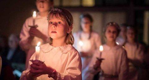 ÅRETS SISTE: Lucikonsert på Kulturtorget blir årets siste arrangement ved Kulturverket Flammen. Resten av arrangementene er avlyst grunnet korona.